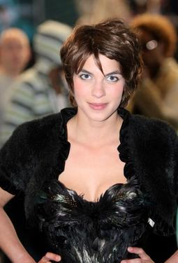 "Natalia Tena at the European premiere of ""Harry Potter And The Order Of The Phoenix."""
